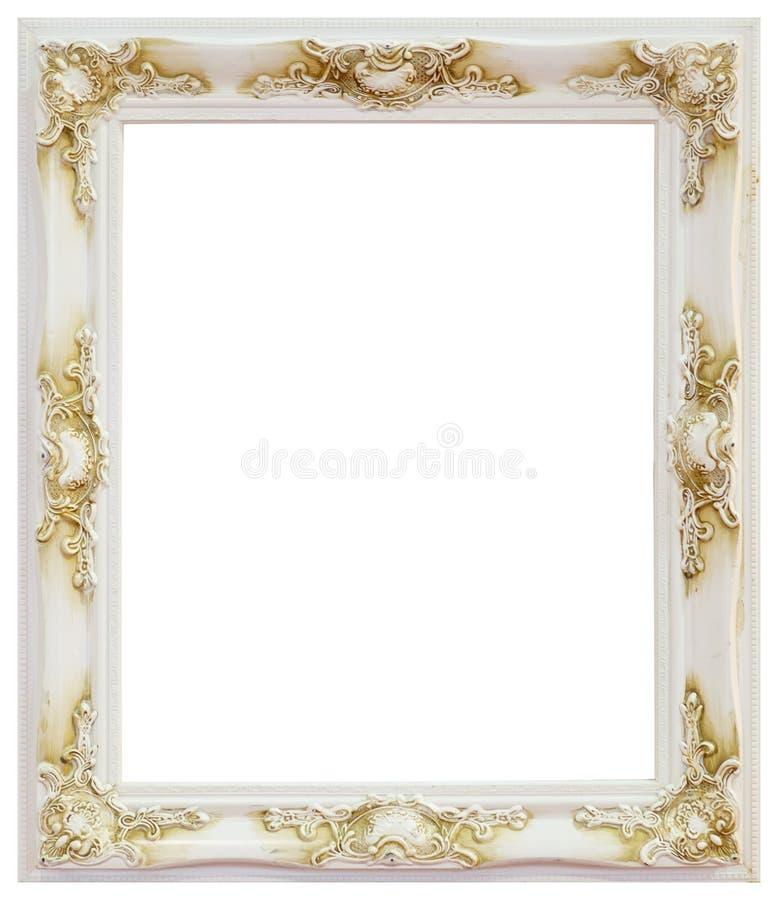 Wit kader royalty-vrije stock fotografie