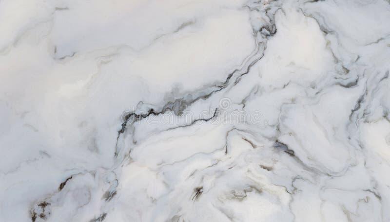 Wit krullend marmer stock foto