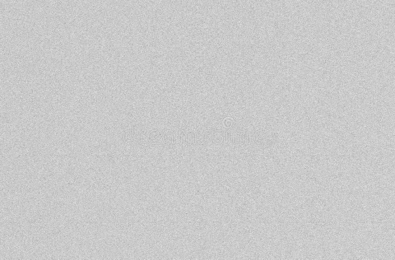 Wit lawaai van TV, grijze achtergrond stock afbeeldingen