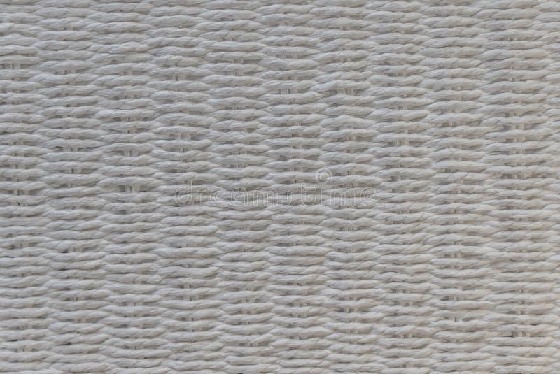 Wit mandweefsel royalty-vrije stock afbeelding