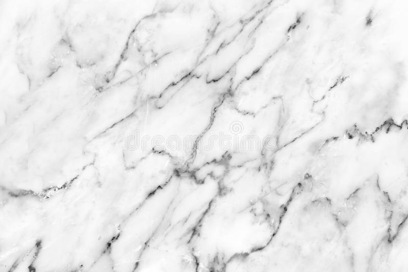 Wit marmeren textuur abstract patroon als achtergrond met hoge resol stock afbeelding