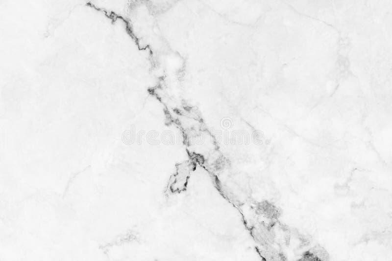 Wit marmeren textuurpatroon als achtergrond met hoge resolutie Ma royalty-vrije stock foto's