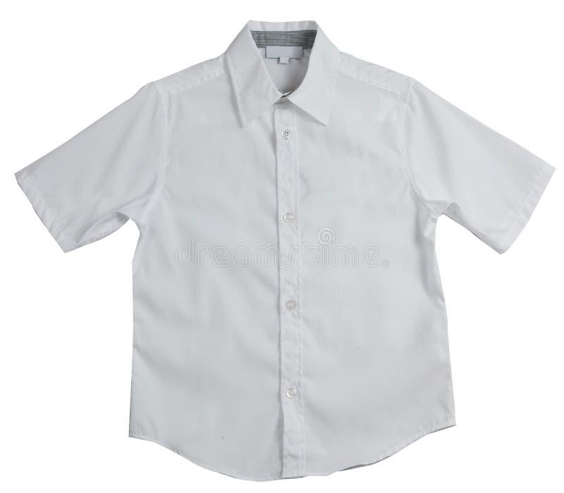 Wit mensen` s overhemd royalty-vrije stock fotografie