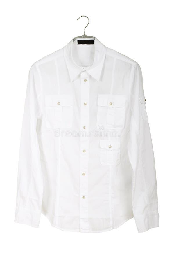 Wit overhemd royalty-vrije stock afbeelding