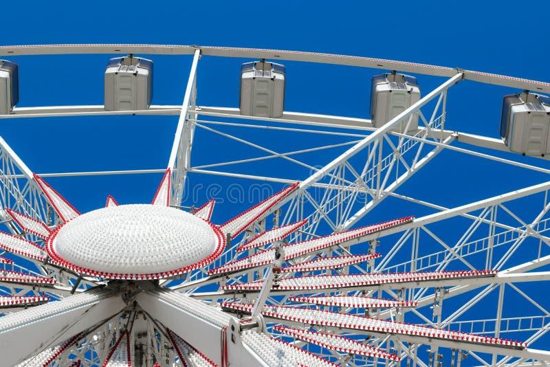 Wit Reuzenrad stock afbeelding