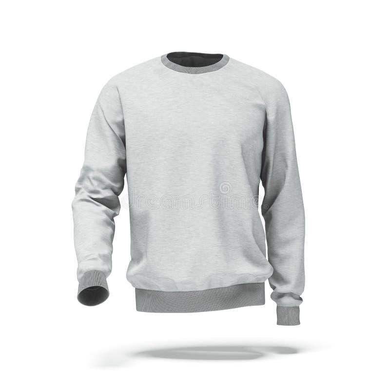 Wit sweatshirt royalty-vrije illustratie