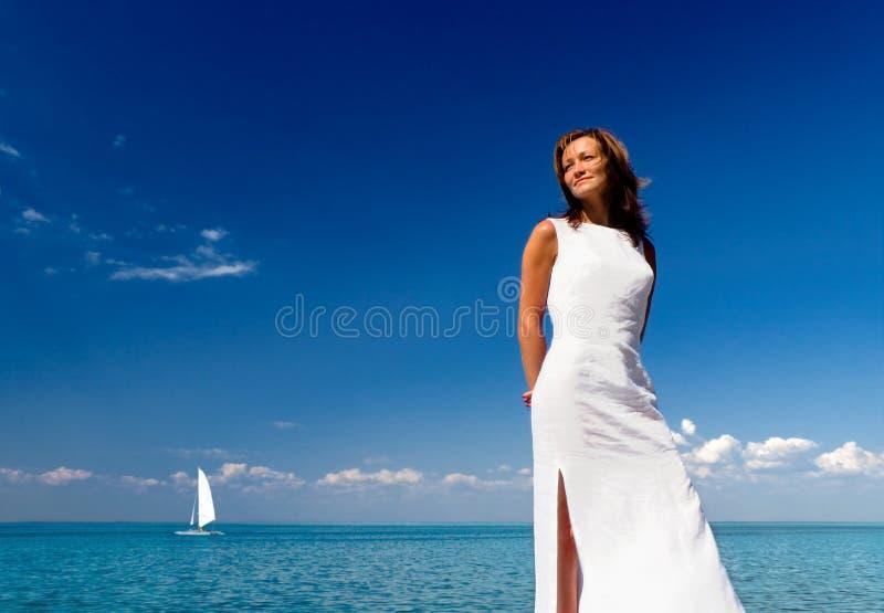 Wit uitdrukking-3 royalty-vrije stock fotografie