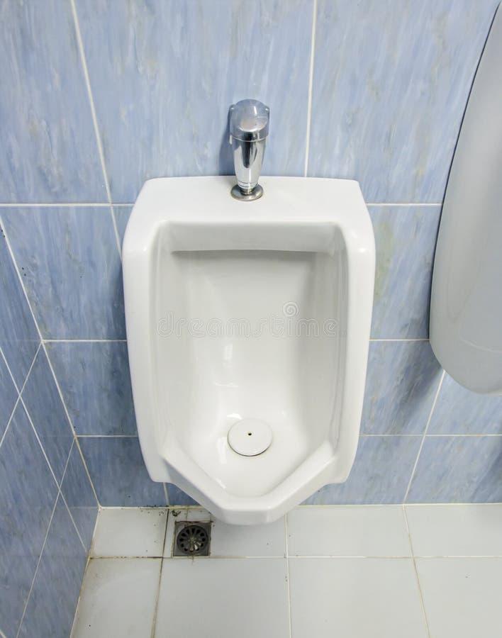 Wit urinoir royalty-vrije stock afbeeldingen