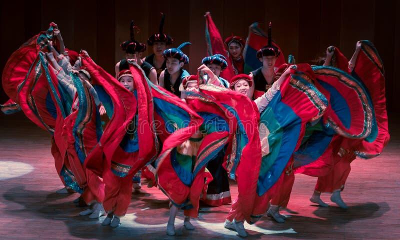 Wita tana dramata Axi Yi ludowego tana fotografia stock