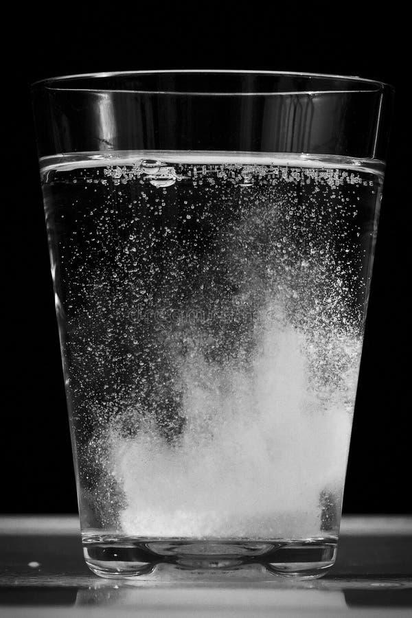 witaminy woda fotografia stock