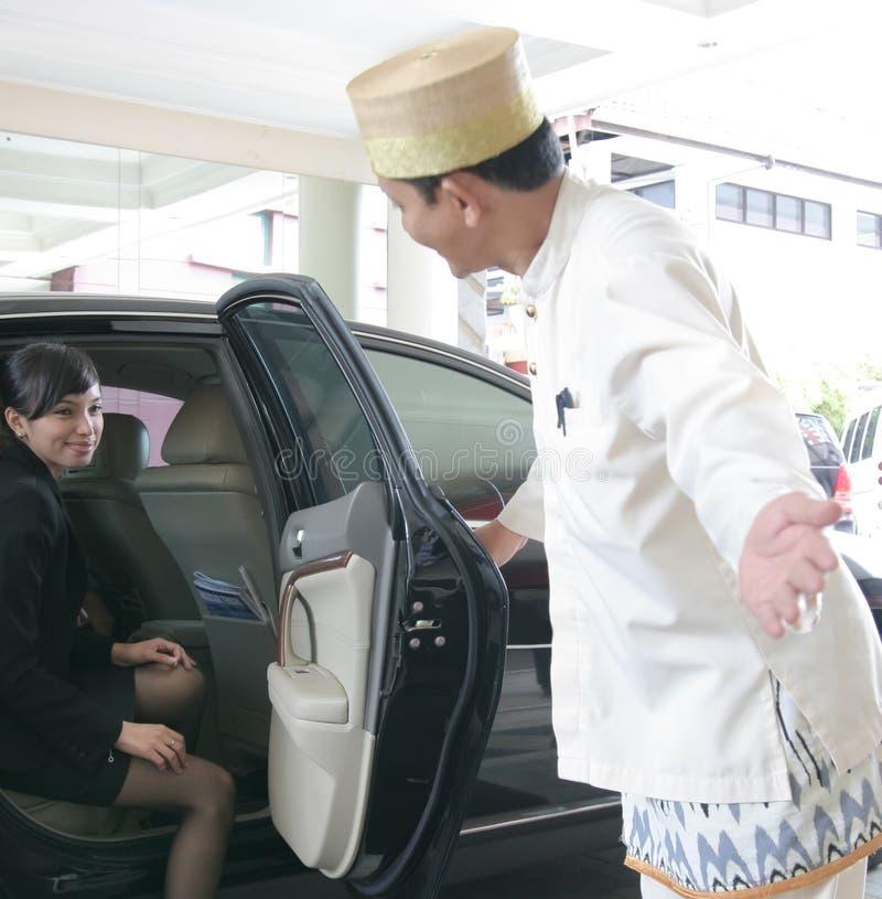 witamy w hotelu dla gości obrazy royalty free