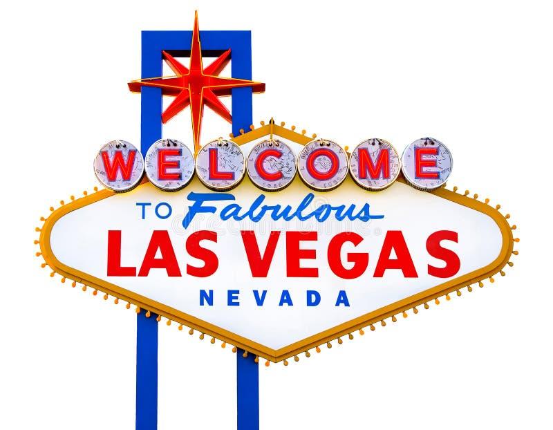 witamy w las Vegas bajeczny lasów zdjęcia royalty free