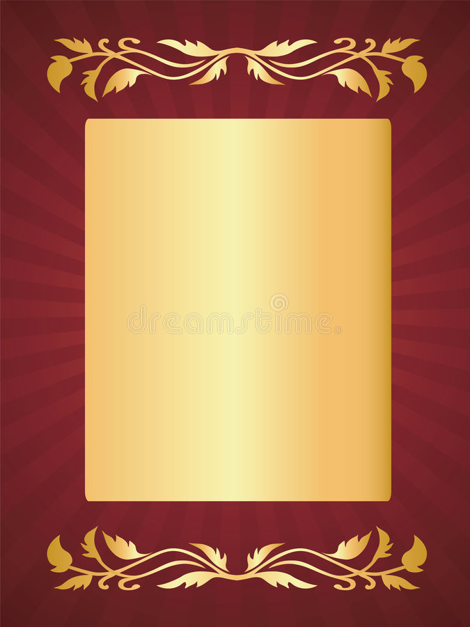 witamy w luksusie karty, obrazy royalty free