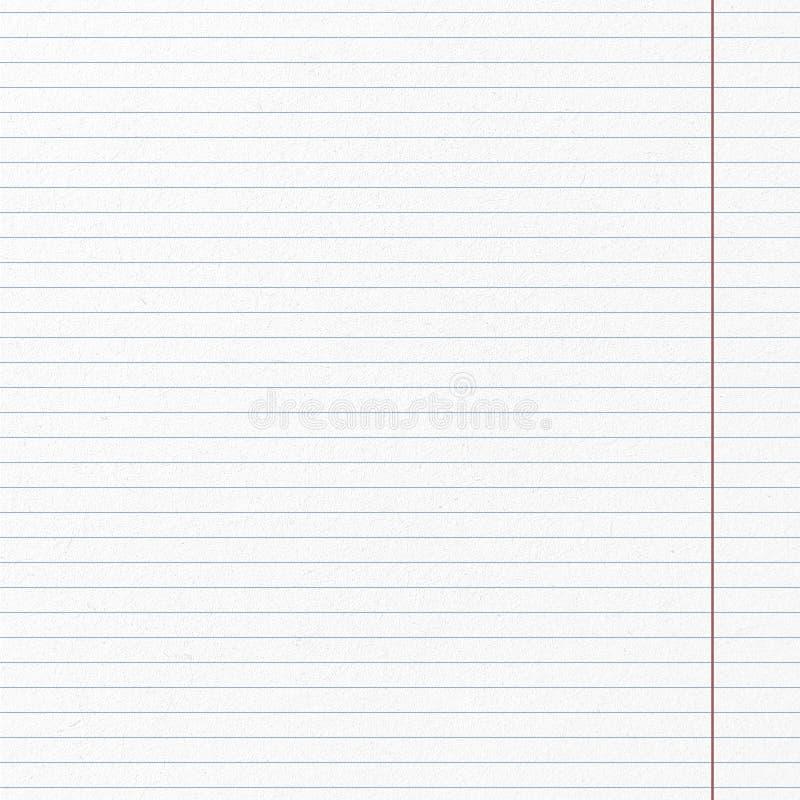 Het patroonpagina van de lijn van document stock fotografie