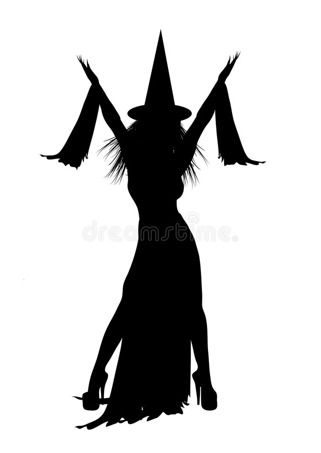 Witch 1 vector illustration