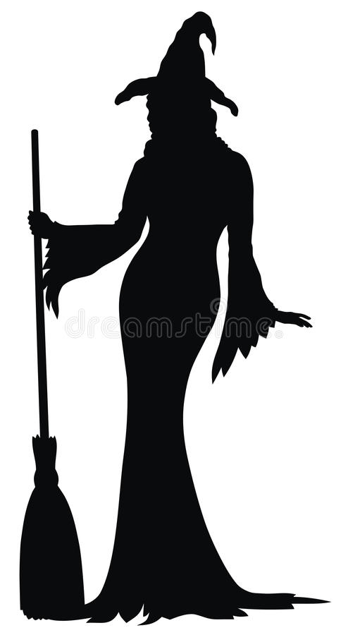 Witch royalty free illustration