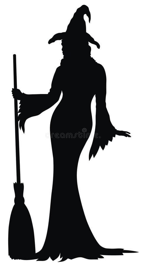 Download Witch stock vector. Illustration of vector, beldam, sorceress - 11055714