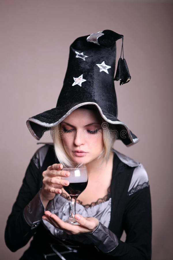 Download Witch stock photo. Image of potion, hands, magic, black - 22398800
