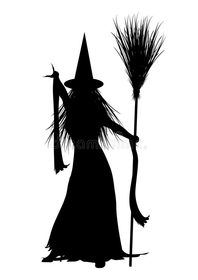Witch 3 vector illustration