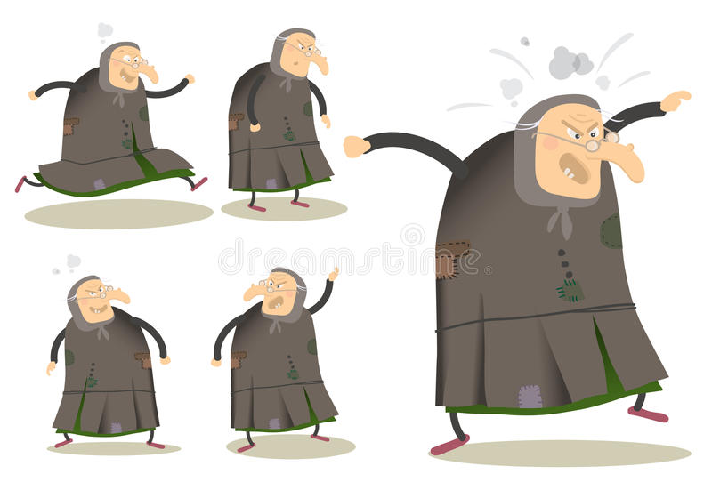 Witch Cartoon Royalty Free Stock Images