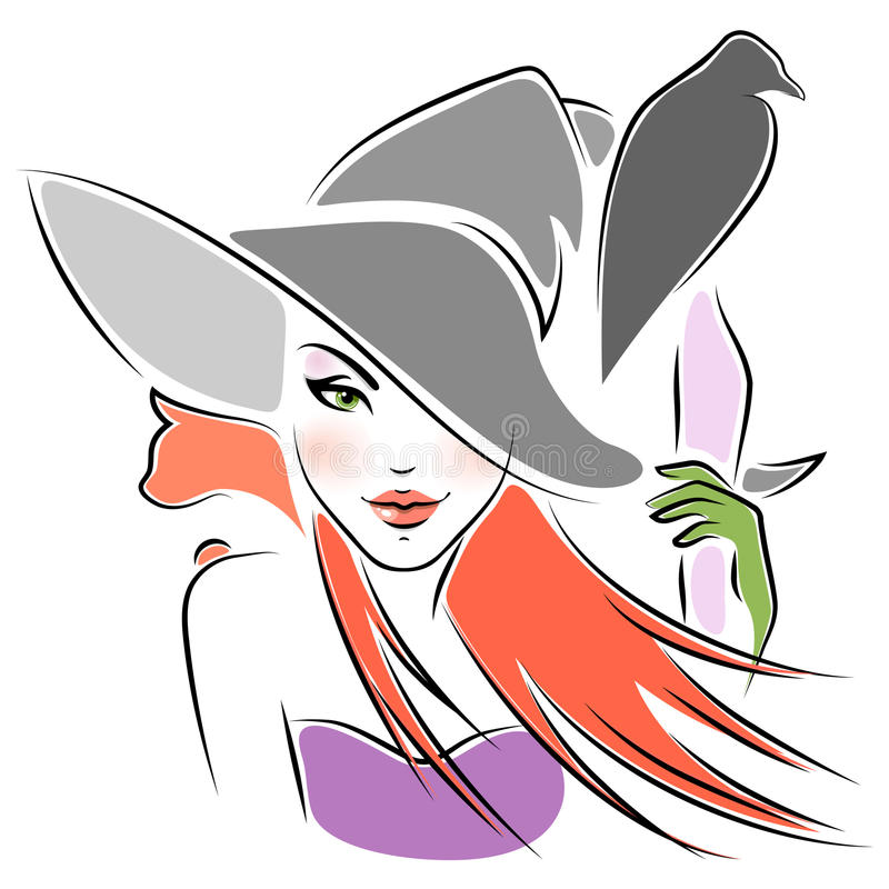 Download Witch, cat and raven stock vector. Illustration of mystic - 18578122