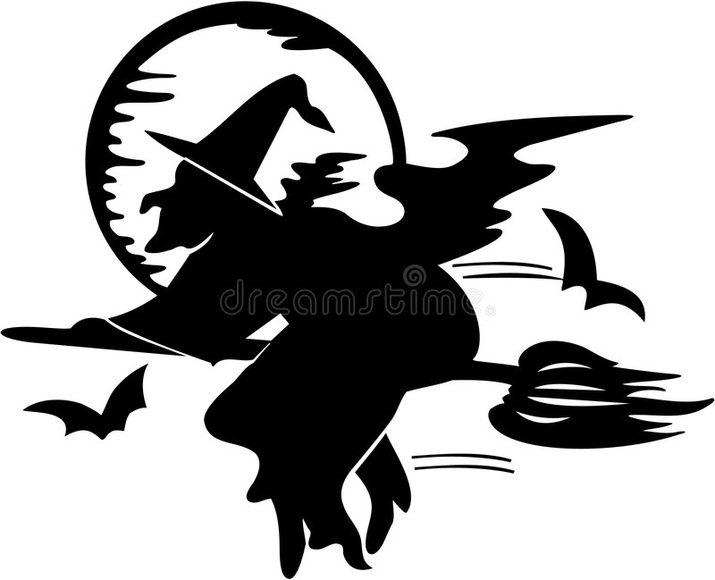 Witch - Halloween royalty free stock images