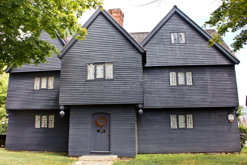 Download Witch House of Salem Mass editorial photo. Image of ghost - 20539766