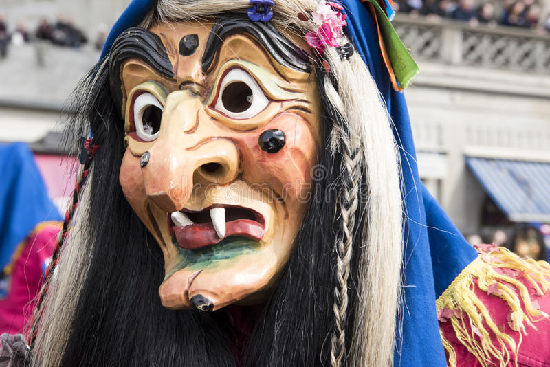 Download Witch Mask at carnival stock photo. Image of laughing - 88102968