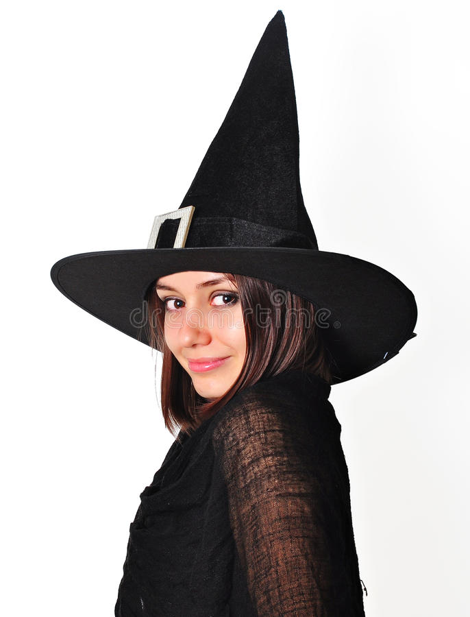Download Witch portrait stock image. Image of brown, costume, caucasian - 25990631