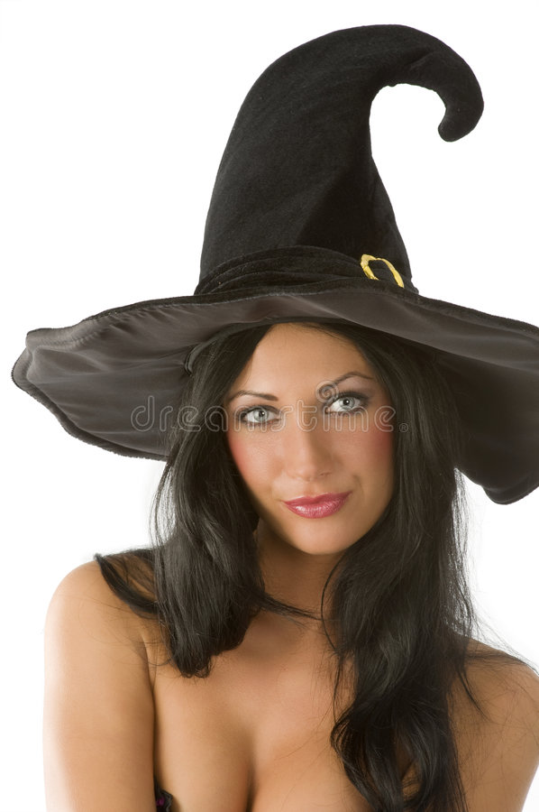 Witch Portrait Royalty Free Stock Image