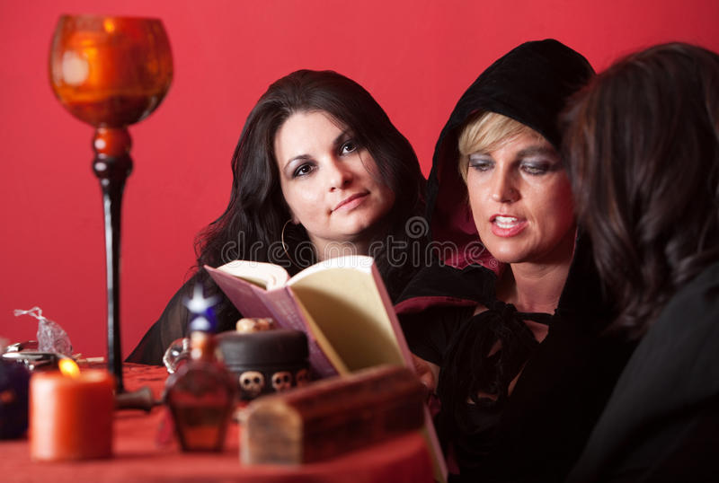 Download Witch Recites a Spell stock photo. Image of american - 20565080