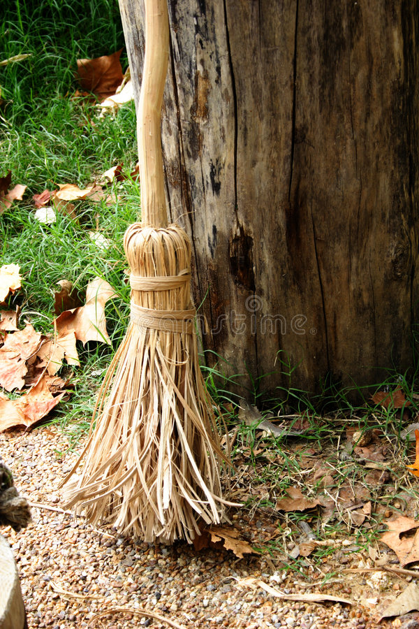 Download Witch's Broom stock photo. Image of halloween, post, fall - 1348630