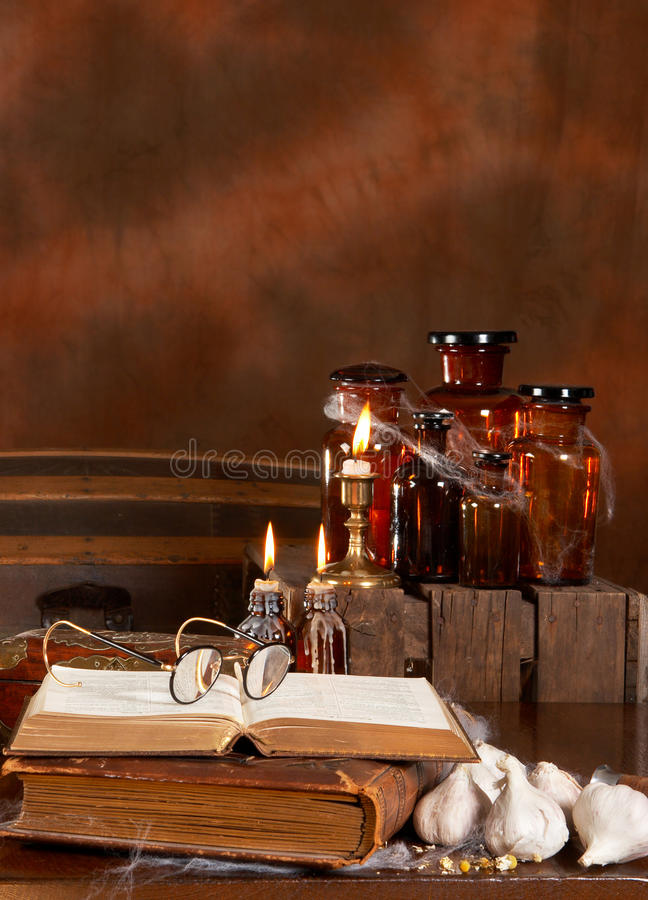 Witch S Kitchen Stock Photography