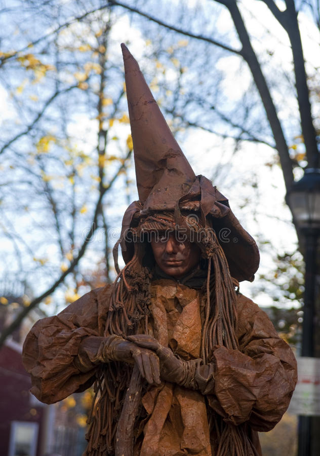 Witch of Salem royalty free stock photography