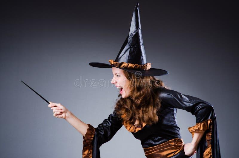 Download Witch stock illustration. Illustration of cartoon, dark - 30220091