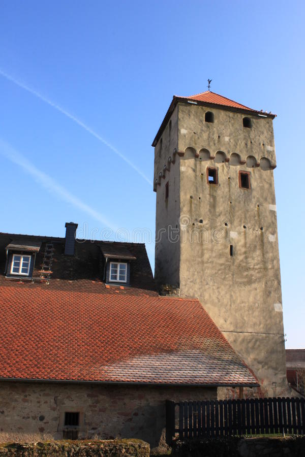 Witch tower stock photography