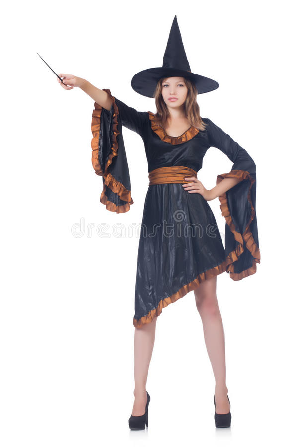 Download Witch stock illustration. Illustration of dress, female - 36979550
