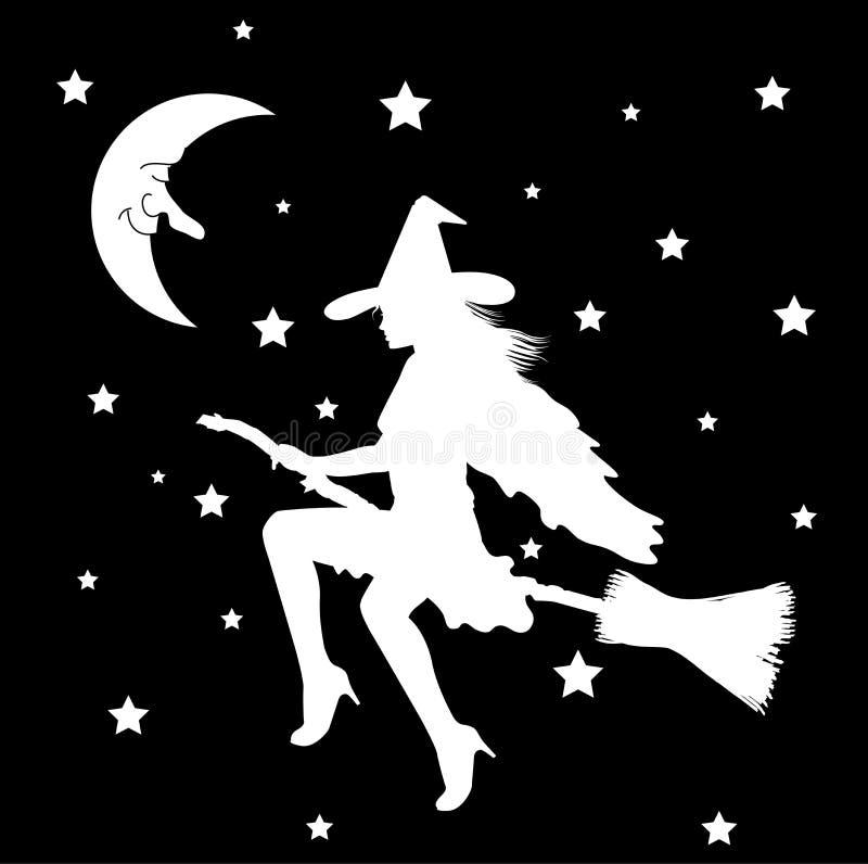 Witch02 illustration de vecteur