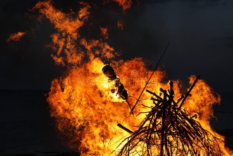 witchburning photo libre de droits