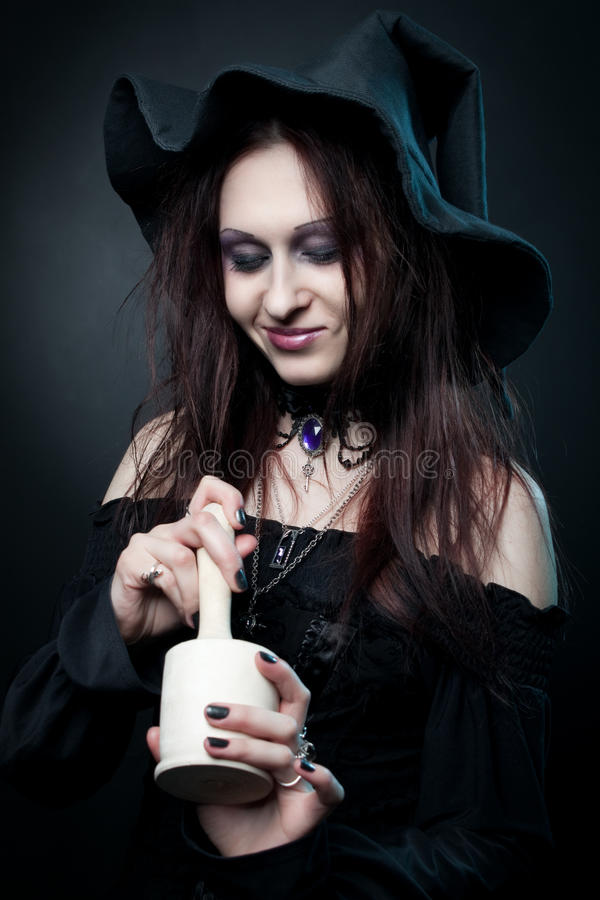 Download Witchcraft stock image. Image of cute, attractive, halloween - 24355937