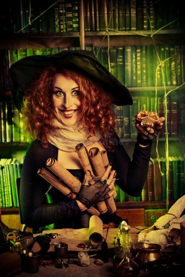 witchcraft royaltyfria bilder