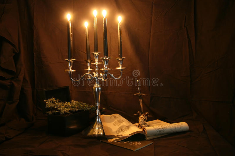Witchcraft royalty free stock photography