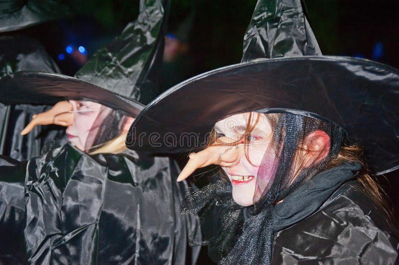 Download Witches  at Halloween editorial image. Image of night - 27376710