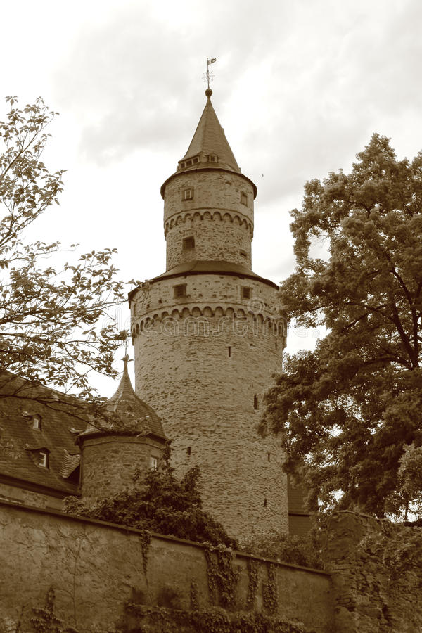Witches Tower in Idstein royalty free stock images