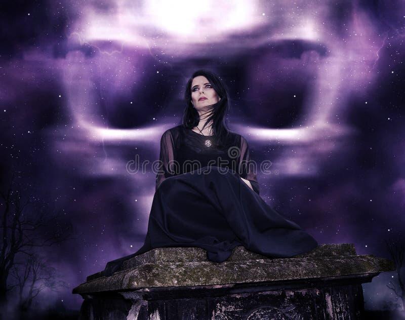 Witching godzina obrazy stock