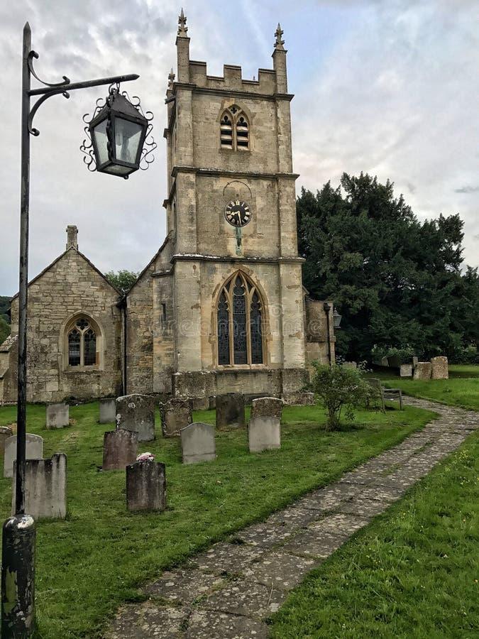 Witcombe kościół obrazy stock
