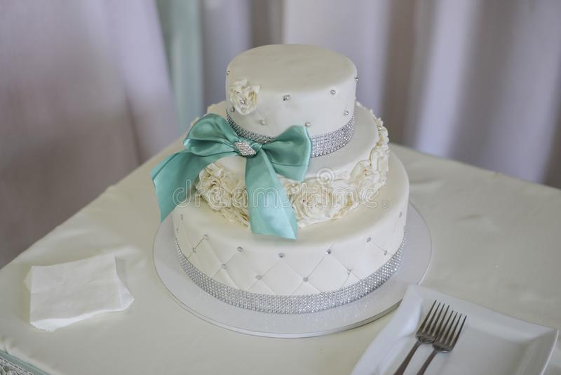 Wite wedding cakes. High sharpness stock images