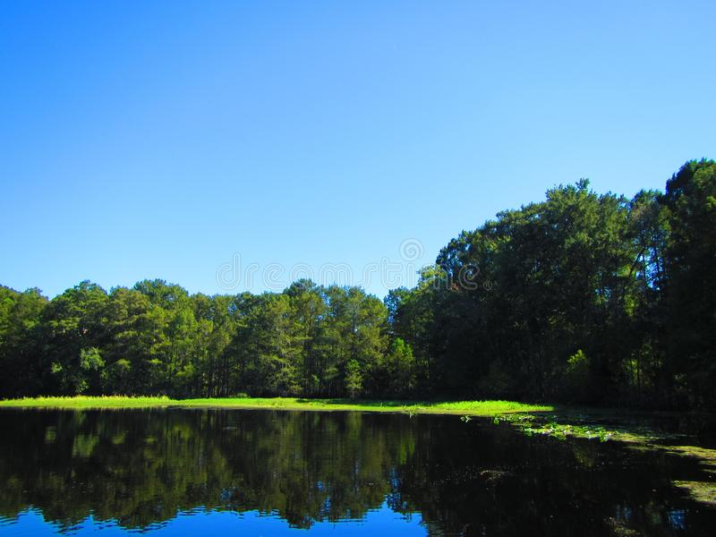 Withalacoochee River, Inverness Florida. Withalacoochee River near Inverness Florida, Old Florida stock photography