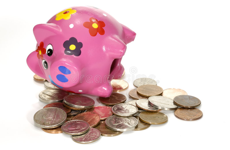 Download Withdrawal stock photo. Image of cash, piggy, currency - 1381774