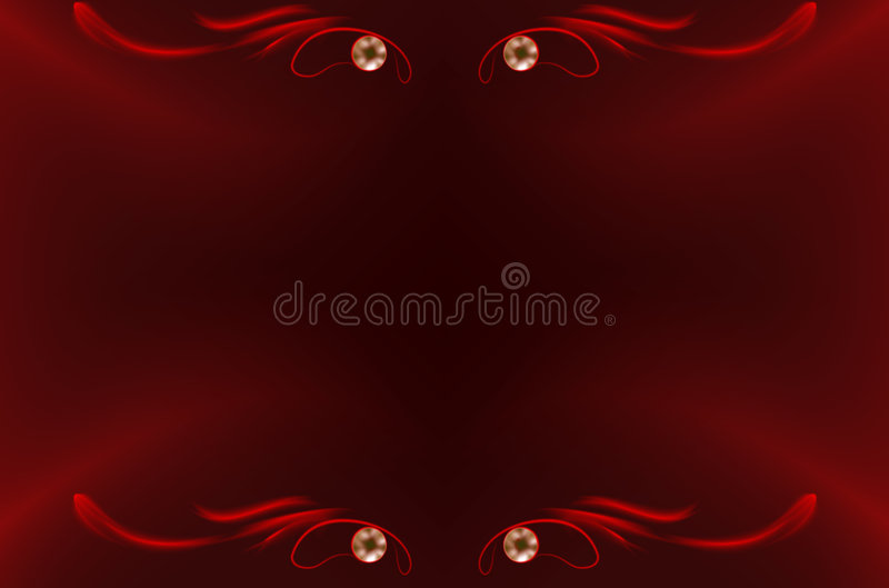Withering look royalty free illustration